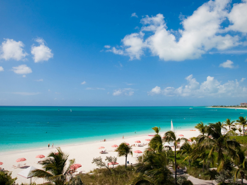 Grace Bay. Turks and Caicos. Playas del Caribe. Caribbean beaches. Asistencia médica para turistas y viajeros en Latinoamérica. Medical assistance for tourists and travelers in Latin America.
